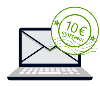 KONTOR 1710 Design-Shop: Newsletter Registrierung